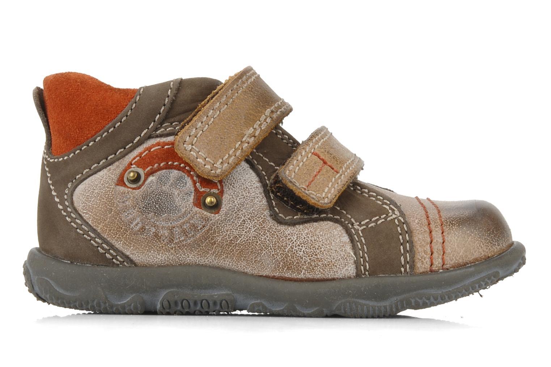 Chaussures à scratch Primigi Leroy Marron vue derrière