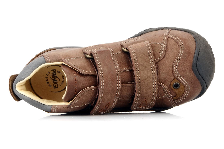 Chaussures à scratch Primigi Bartolom Marron vue gauche