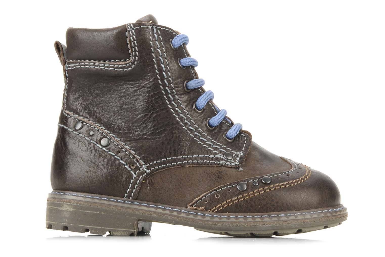 Ankle boots Primigi Lanfranco Brown back view