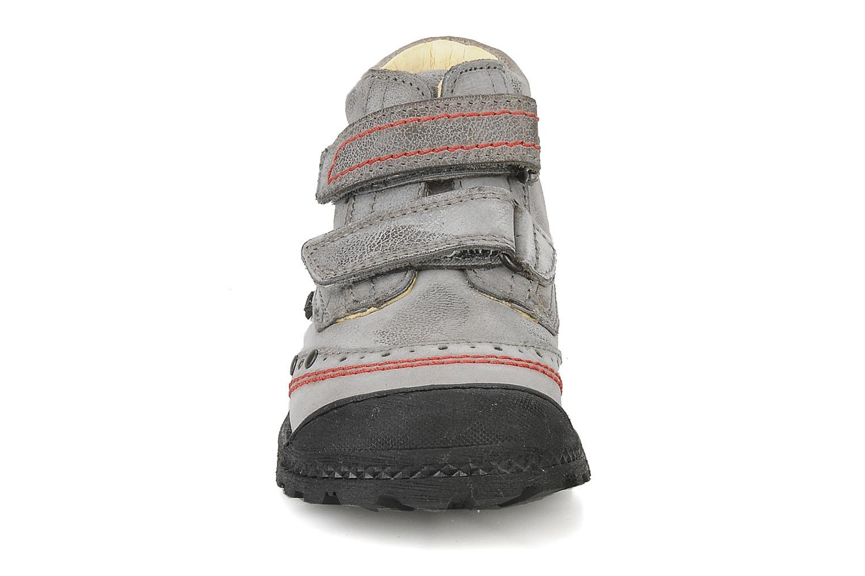 Scarpe con gli strappi Primigi Ashton Grigio modello indossato