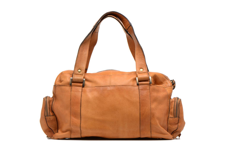Bolsos de mano Pieces Totally Royal leather Small bag Marrón vista de frente