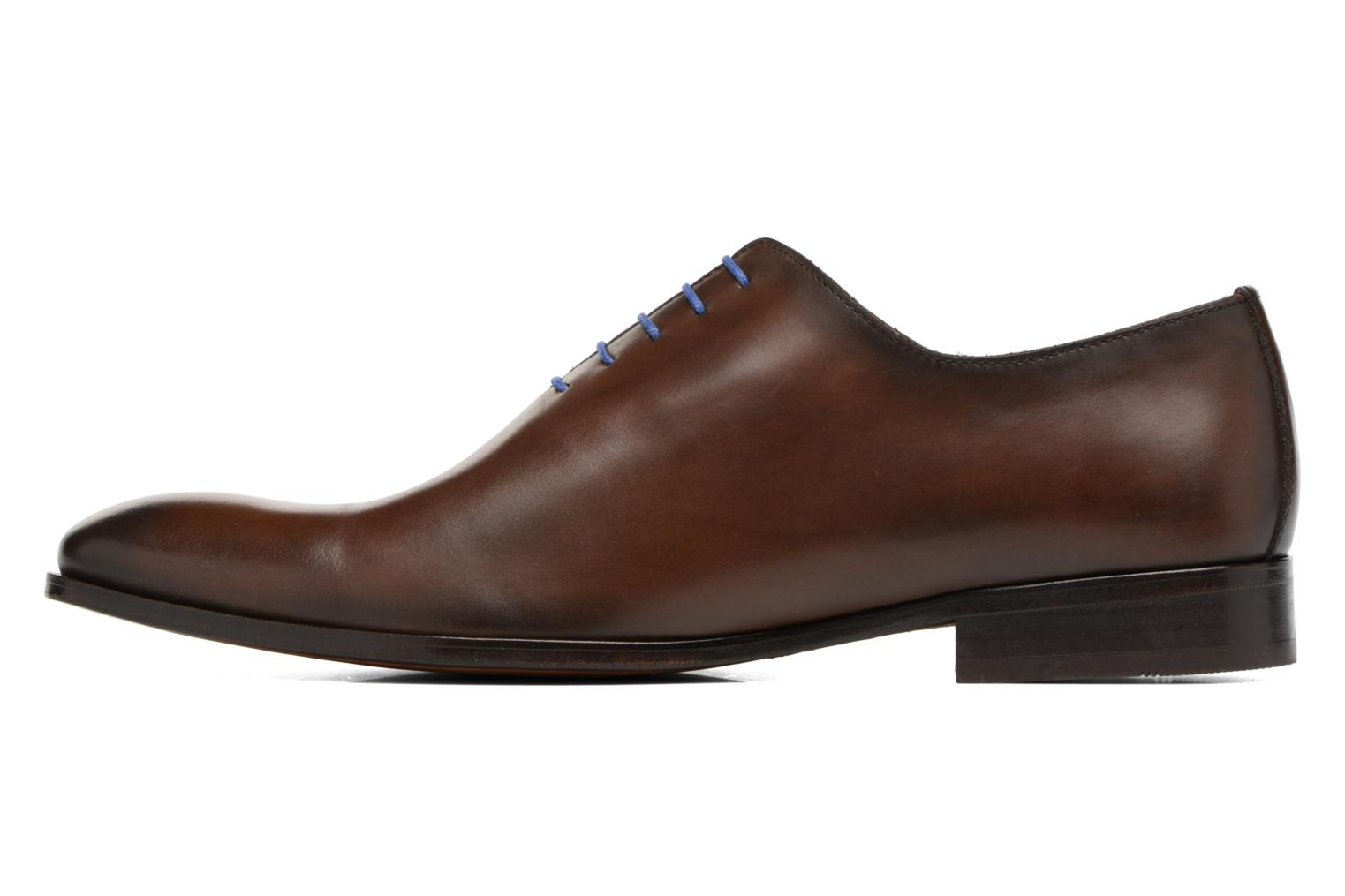 Lace-up shoes Brett & Sons Côme Brown front view