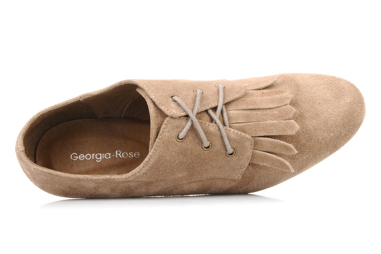 Chaussures à lacets Georgia Rose Azalea Beige vue gauche