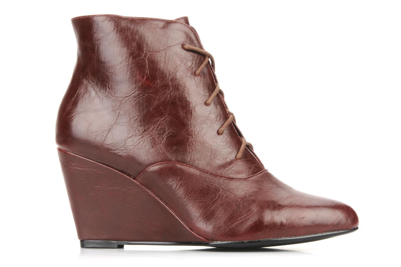 Bottines et boots Georgia Rose Nara Bordeaux vue derrière