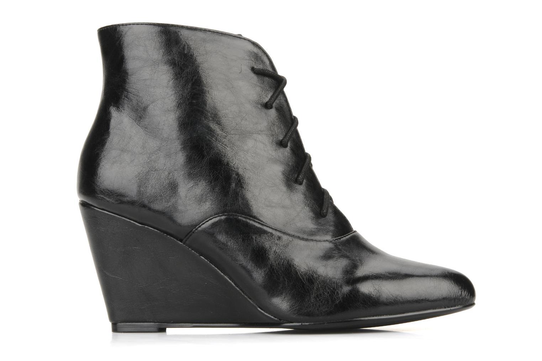 Bottines et boots Georgia Rose Nara Noir vue derrière