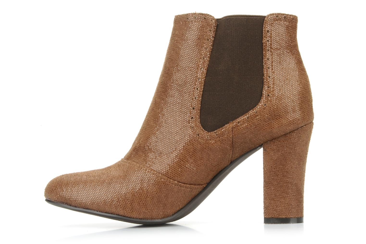 Ankle boots Georgia Rose Oliva Brown front view