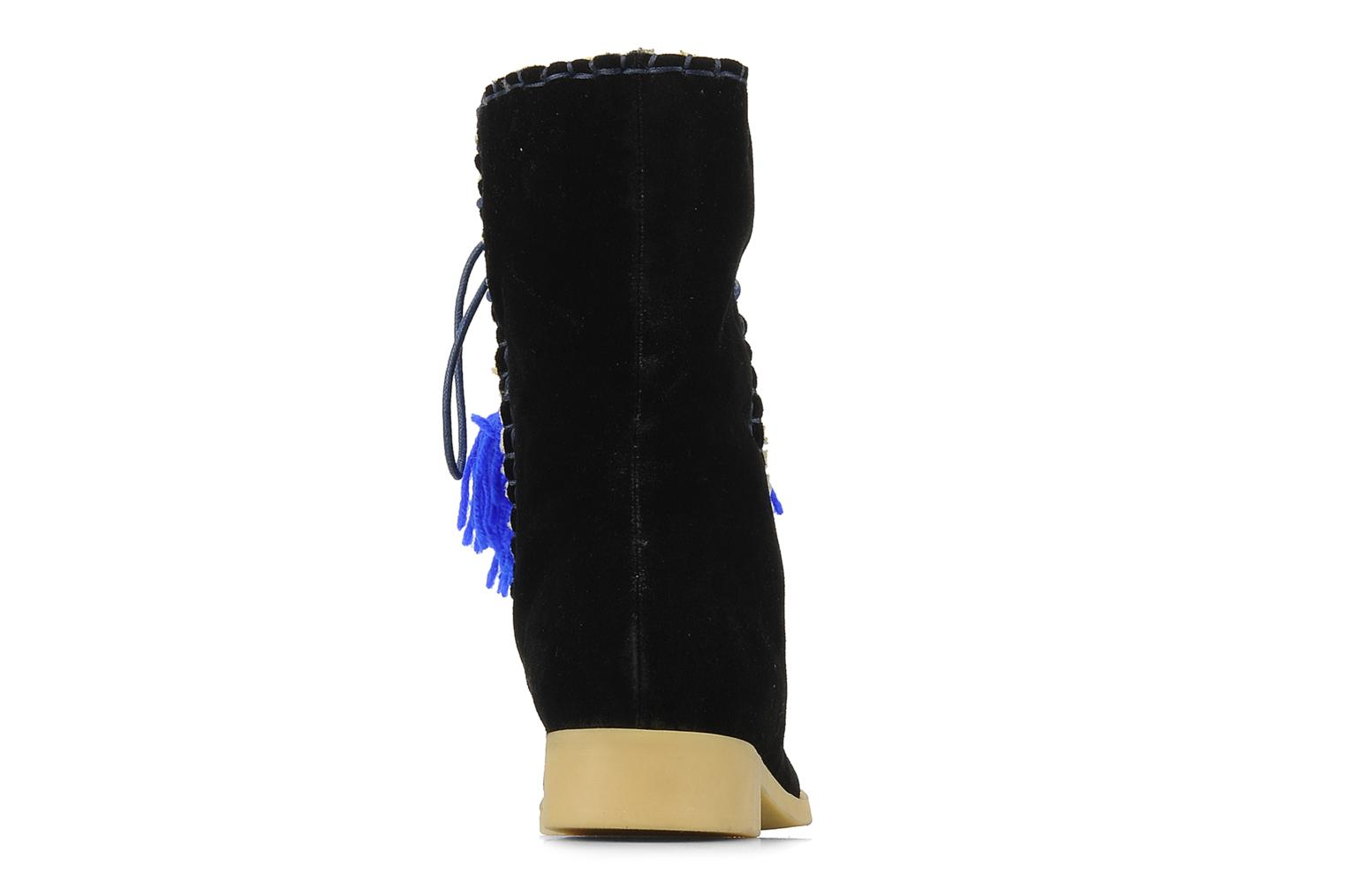 Ankle boots Mellow Yellow Kinuit Black view from the right