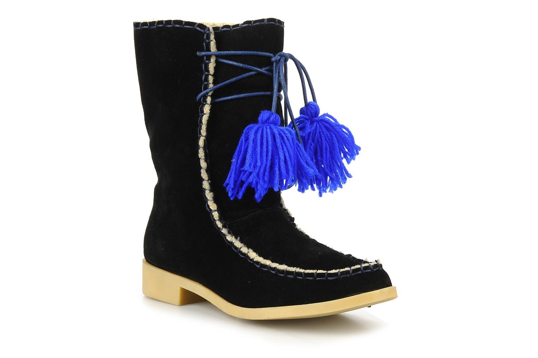Boots en enkellaarsjes Mellow Yellow Kinuit Zwart detail