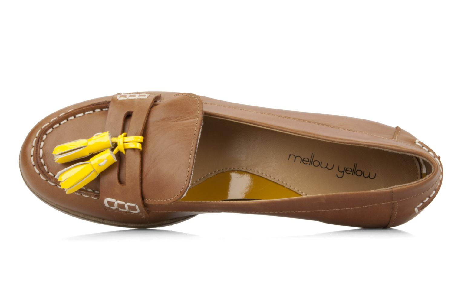 Loafers Mellow Yellow Kolage Brown view from the left