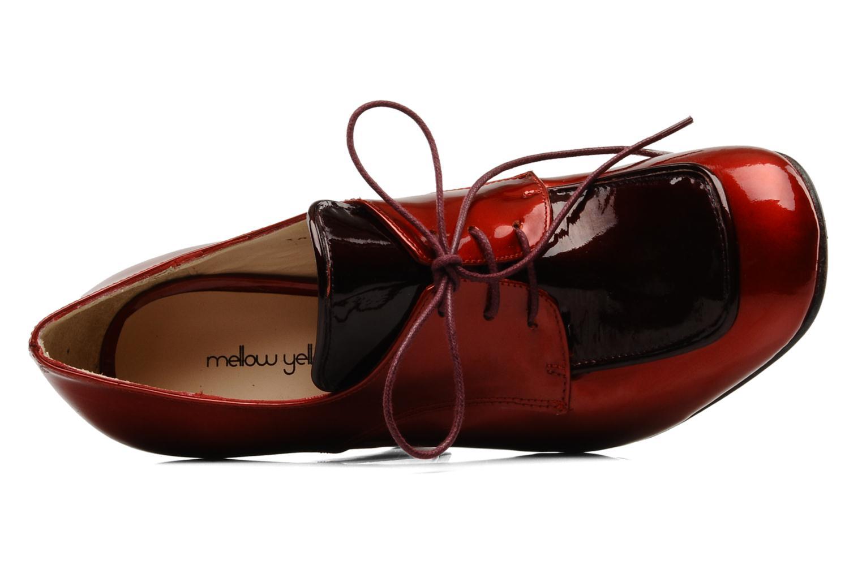 Chaussures à lacets Mellow Yellow Klipo Rouge vue gauche