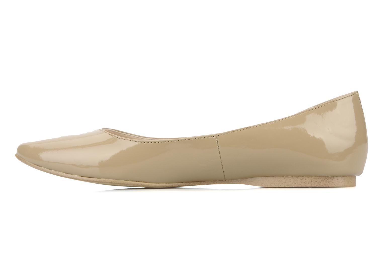Ballerines I Love Shoes Mizaella Beige vue face