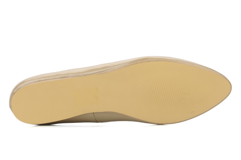 Ballerines I Love Shoes Mizaella Beige vue haut