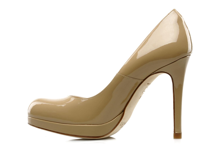 High heels L.K. Bennett Sledge Beige front view
