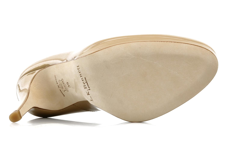 High heels L.K. Bennett Sledge Beige view from above