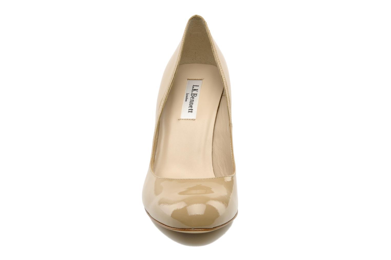 Escarpins L.K. Bennett Shilo Beige vue portées chaussures