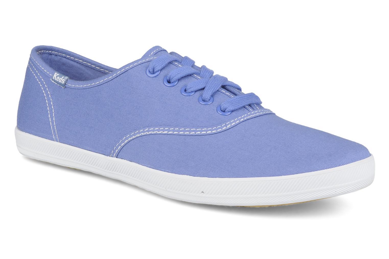 Sneaker Keds Champion washed canvas blau detaillierte ansicht/modell