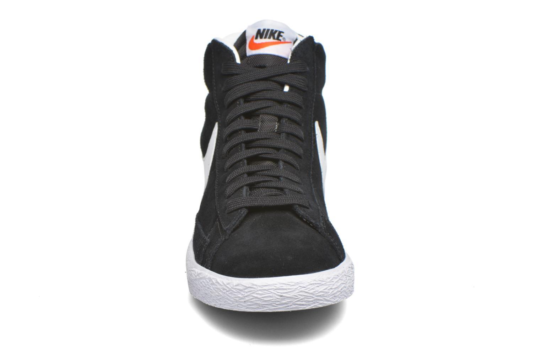 Sneakers Nike Blazer mid prm Zwart model