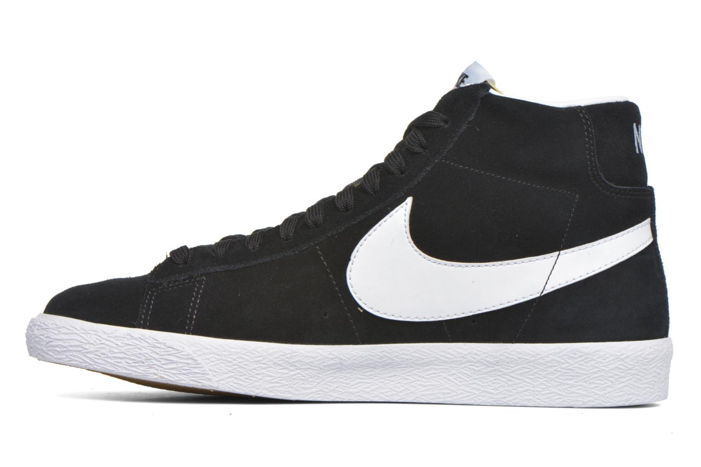 Sneakers Nike Blazer mid prm Zwart voorkant