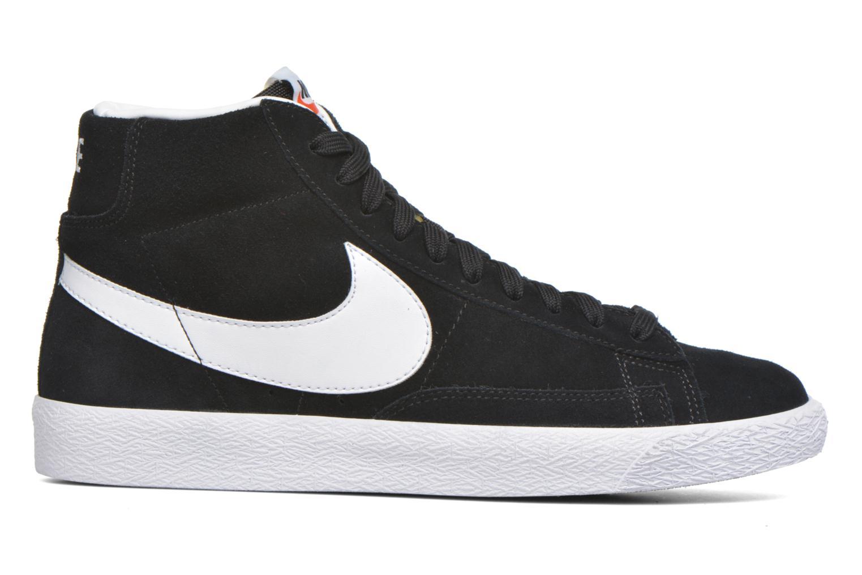 Sneakers Nike Blazer mid prm Zwart achterkant