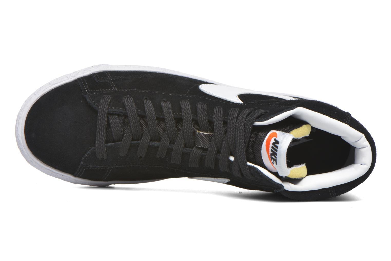 Sneakers Nike Blazer mid prm Zwart links