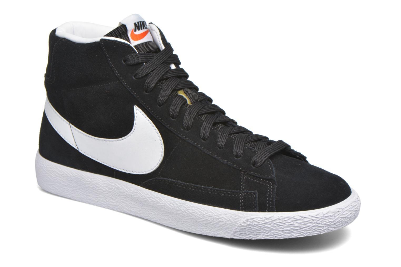 Sneakers Nike Blazer mid prm Zwart detail