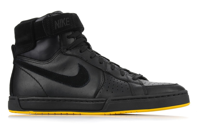 Sneaker Nike Flytop velcro schwarz ansicht von hinten