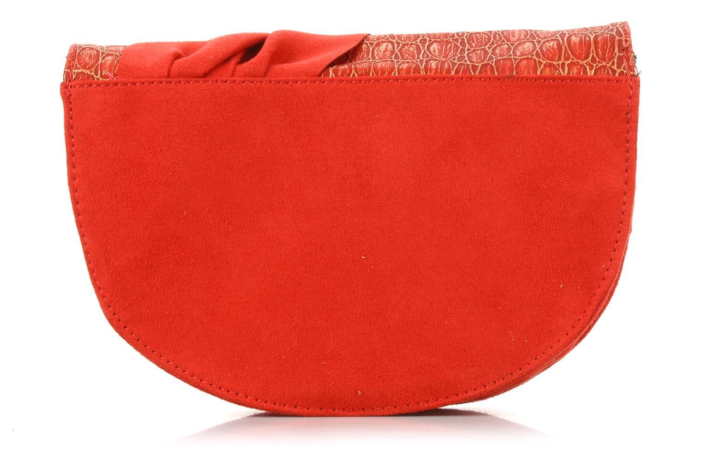 Handbags Irregular choice Miaow cross body Red front view