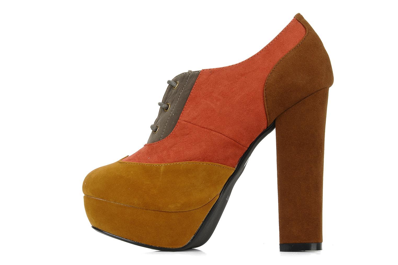 Scarpe con lacci I Love Shoes Jeri Multicolore immagine frontale