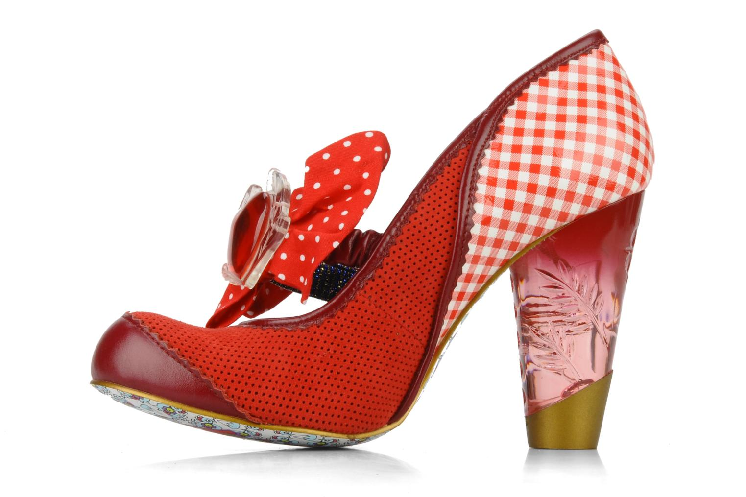 Décolleté Irregular choice I'm from bury Rosso immagine frontale