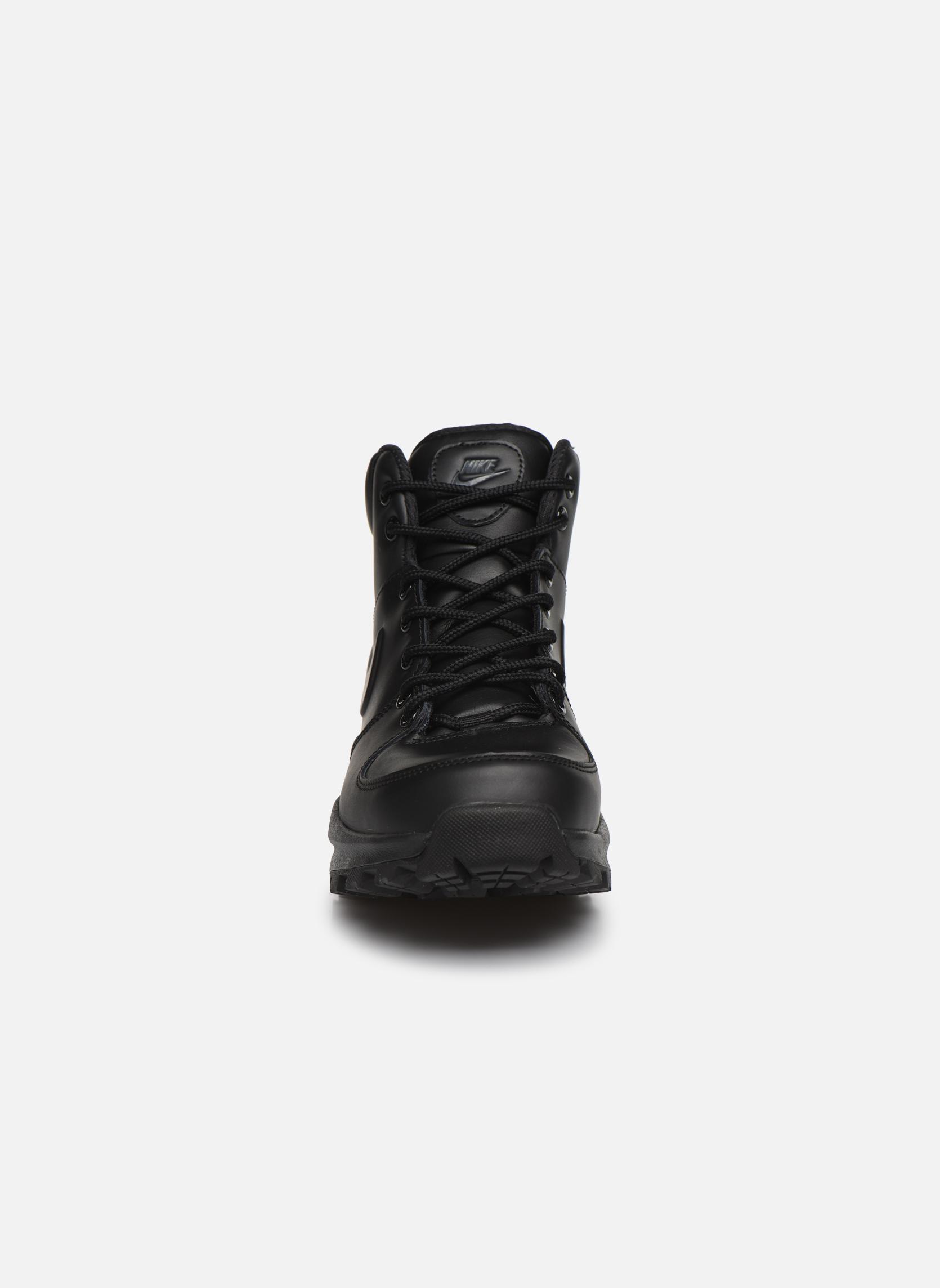 Bottines et boots Nike Manoa leather Noir vue portées chaussures