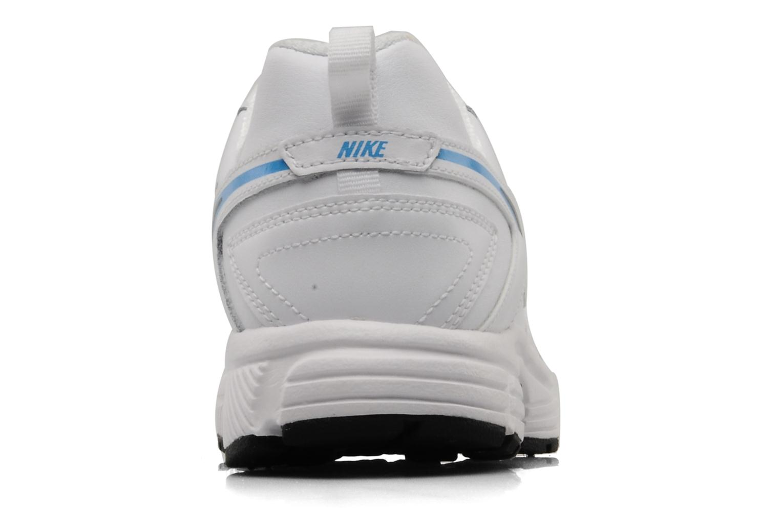 Dart 9 lea bgp White/black-current blue