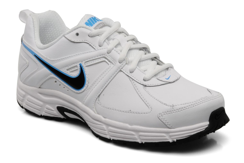 Sportschoenen Nike Dart 9 lea bgp Wit detail