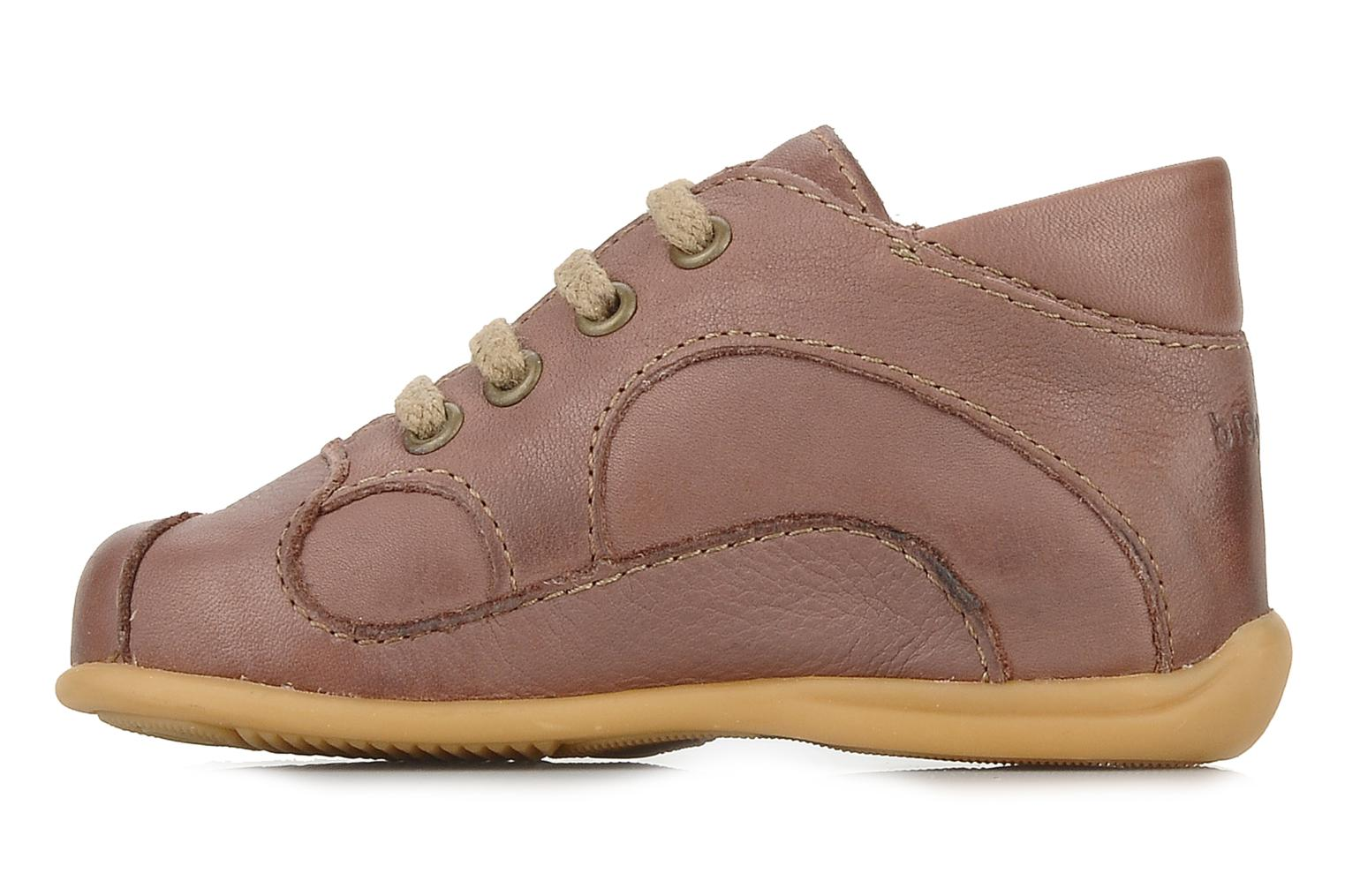 Ankle boots Bisgaard Galipette Beige front view
