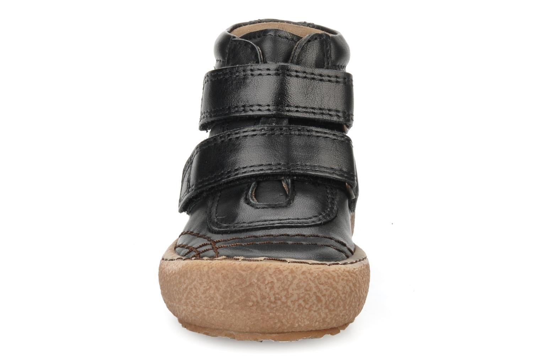 Chaussures à scratch Bisgaard Gapaos Noir vue portées chaussures