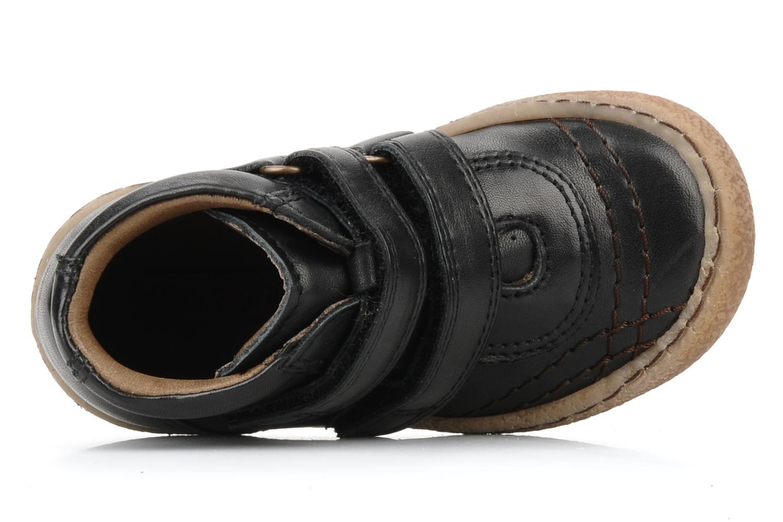 Chaussures à scratch Bisgaard Gapaos Noir vue gauche
