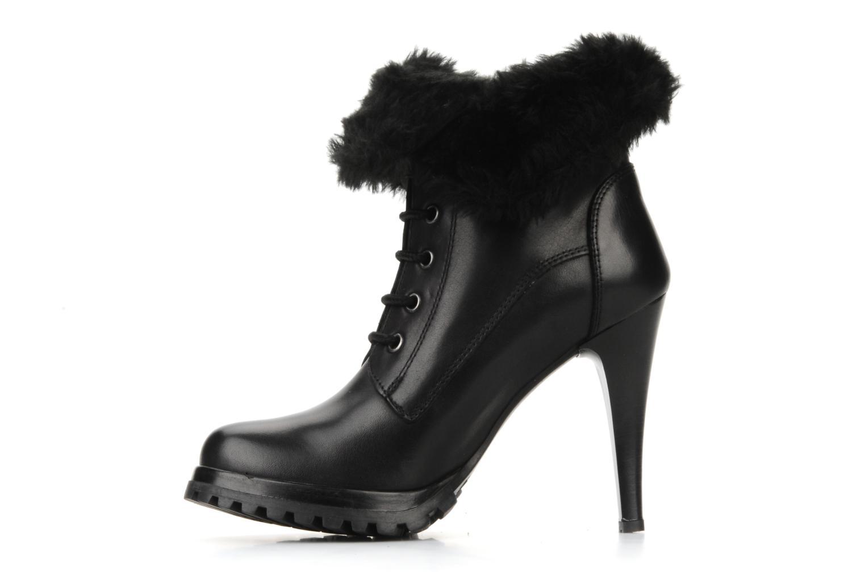 Bottines et boots Eden Micho Noir vue face