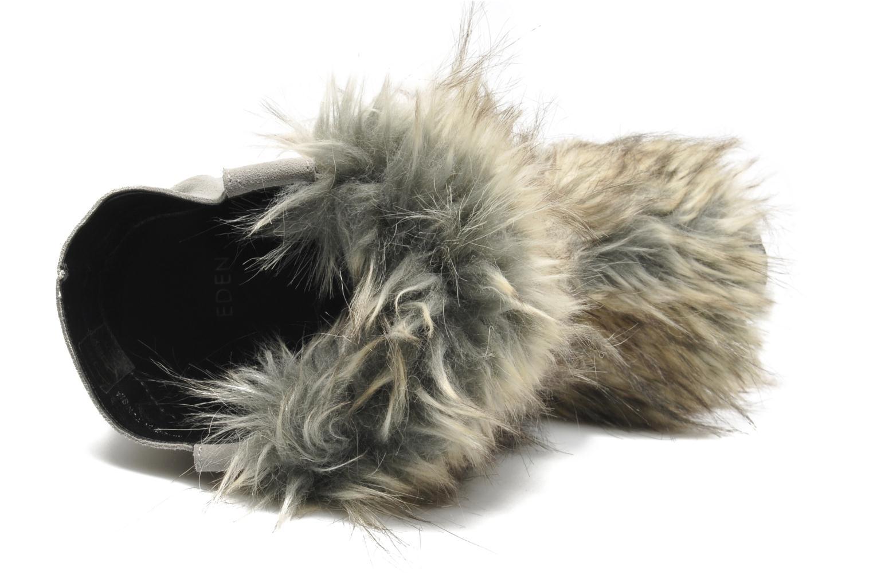Bottines et boots Eden Zon Gris vue gauche