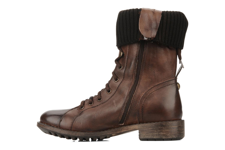 Boots en enkellaarsjes Eden Nems Bruin voorkant