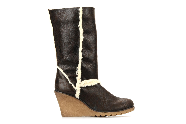 Boots en enkellaarsjes Eden Monta Bruin achterkant