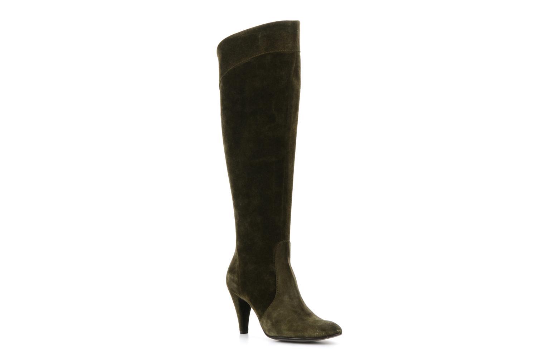 Boots & wellies Eden Enflip Green detailed view/ Pair view