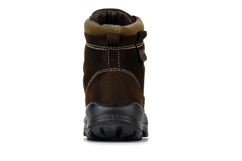 Bottines et boots Rose & Martin Cupidon Marron vue droite