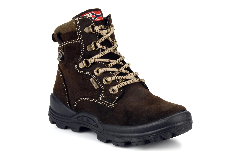 Bottines et boots Rose & Martin Cupidon Marron vue détail/paire