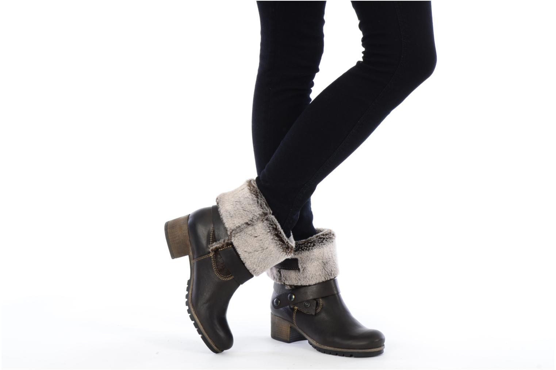 Bottines et boots Tamaris Oprah Marron vue bas / vue portée sac