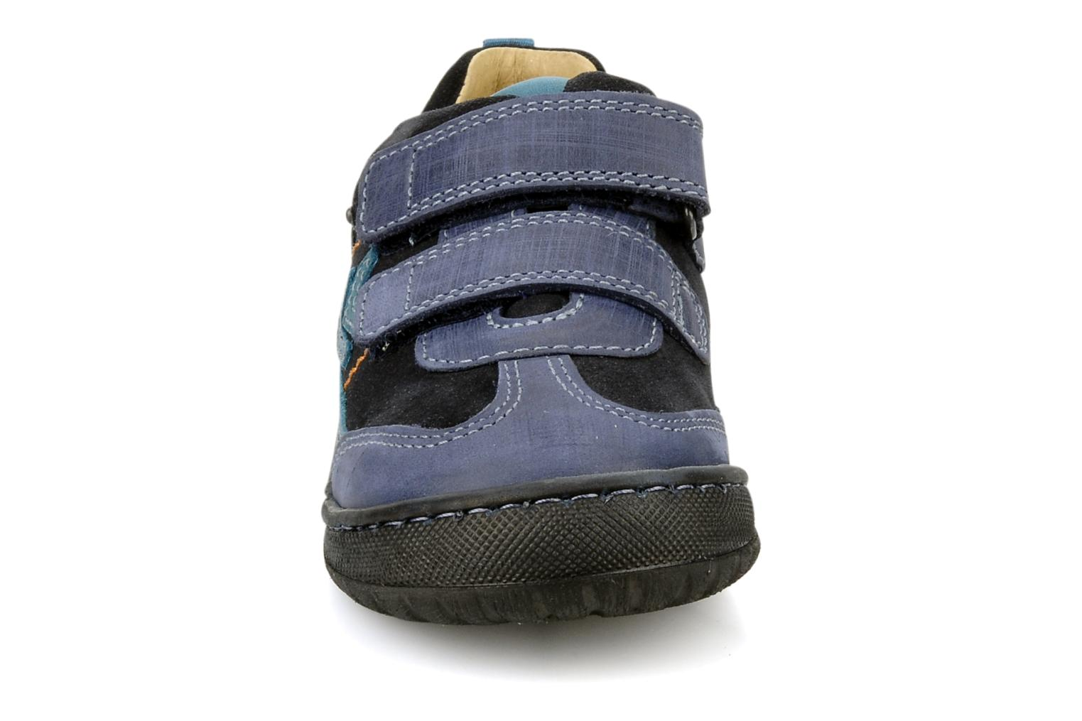 Velcro shoes Start Rite Trail Blue model view