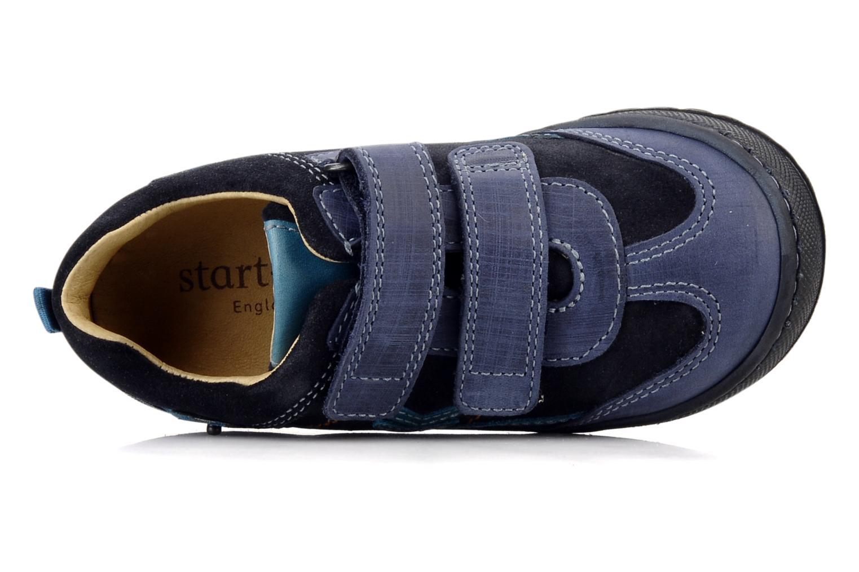 Chaussures à scratch Start Rite Trail Bleu vue gauche