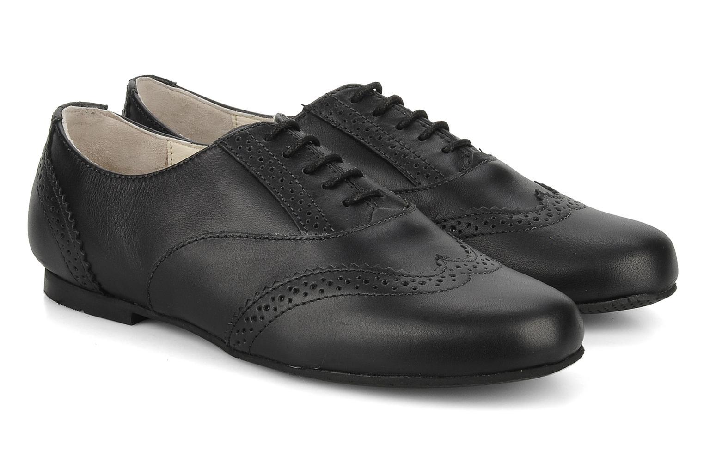 Chaussures à lacets Start Rite Fran Noir vue 3/4