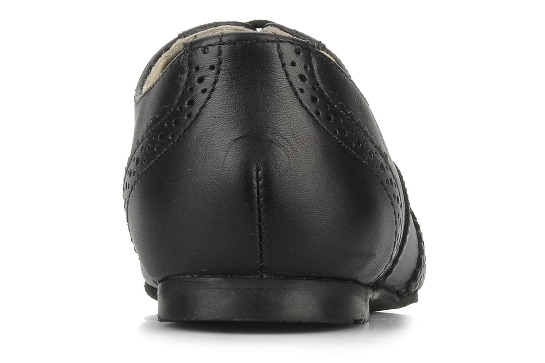Chaussures à lacets Start Rite Fran Noir vue droite