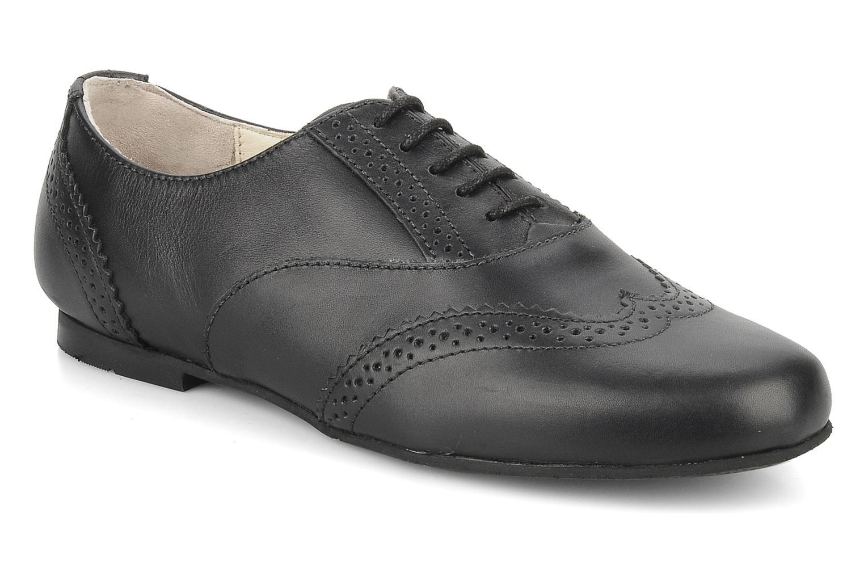 Chaussures à lacets Start Rite Fran Noir vue détail/paire