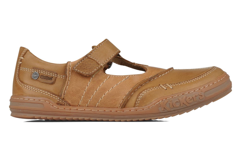 Chaussures à lacets Kickers Jimpy Marron vue derrière