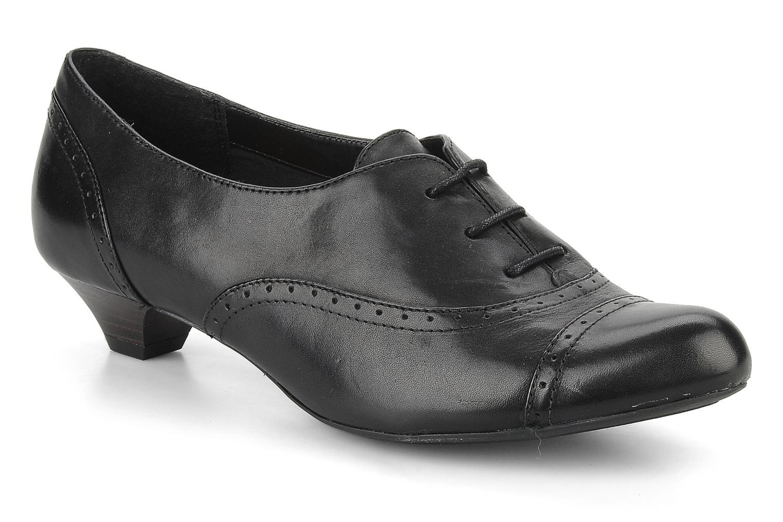 Chaussures à lacets Clarks Colour wheel Noir vue détail/paire